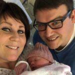 Endelig! Etter livsstilsendring ble Christine og Fredrik foreldre.